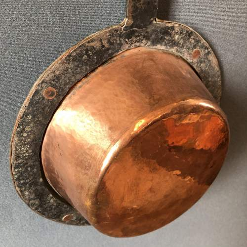 Iron Handled Copper Pan image-6