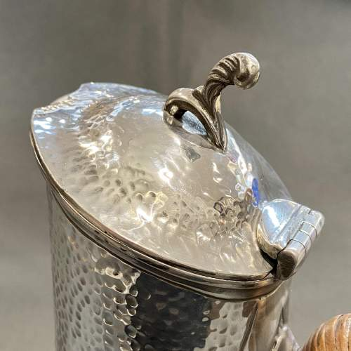 20th Century Arts and Crafts Pewter Water Jug image-2