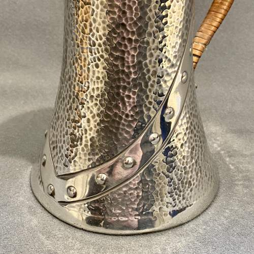 20th Century Arts and Crafts Pewter Water Jug image-4