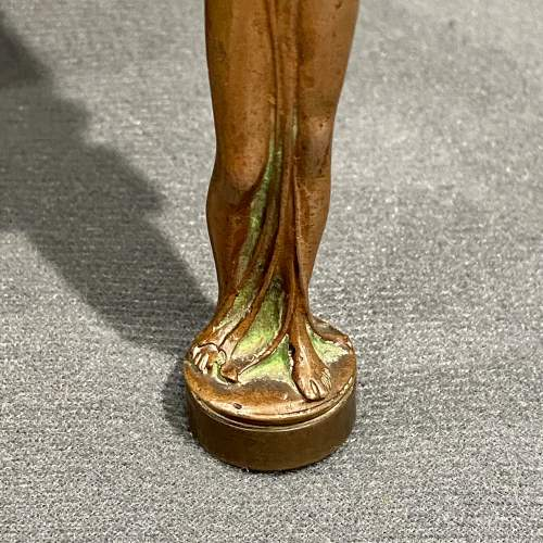 Art Nouveau French Bronze Desk Seal image-3