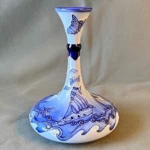 Moorcroft Florian Yacht Vase