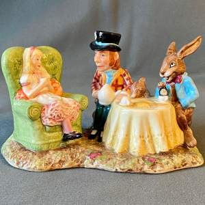 Beswick The Mad Hatters Tea Party