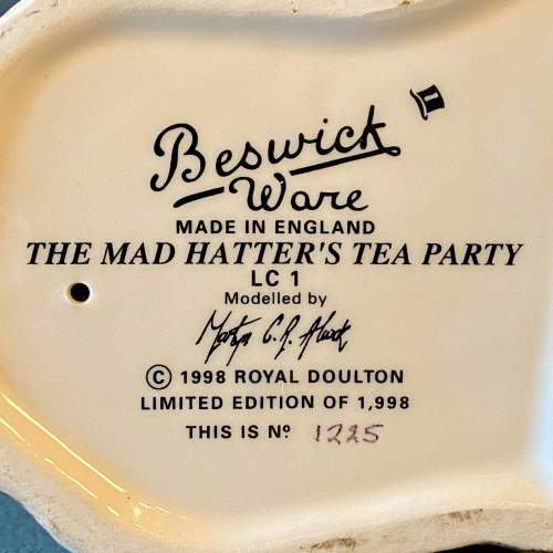 Beswick The Mad Hatters Tea Party image-6