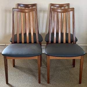 Mid 20th Century Set of Four G-Plan Dining Chairs