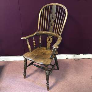 19th Century Ash and Elm Windsor Chair