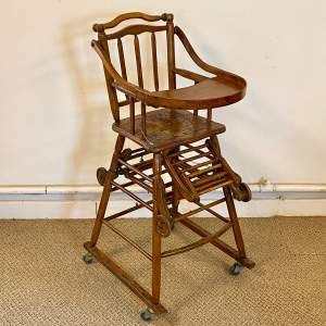 Vintage Childs High Chair