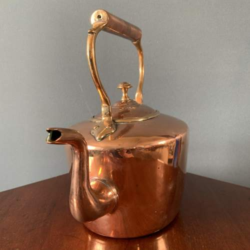 19th Century Oval Copper Kettle image-2