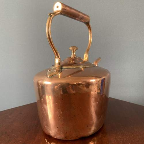 19th Century Oval Copper Kettle image-4