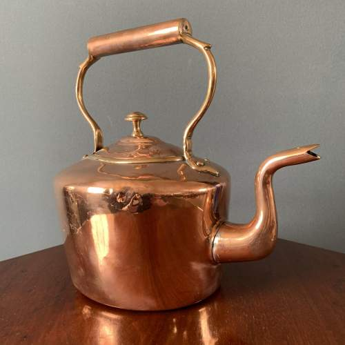 19th Century Oval Copper Kettle image-3