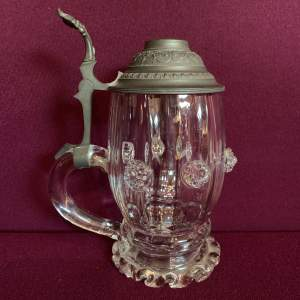 Continental Glass Stein Tankard