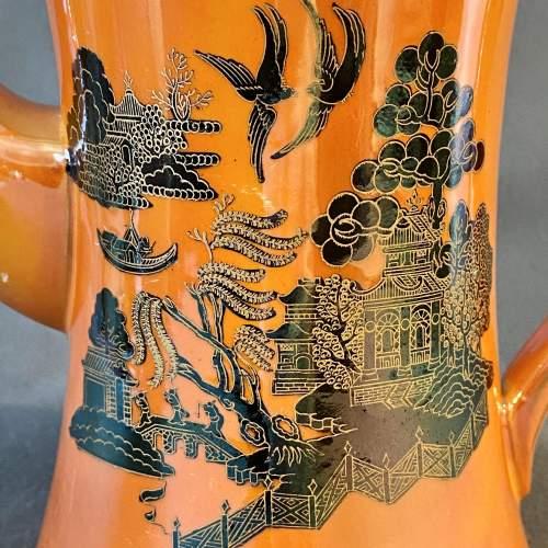 Carlton Ware Chinoiserie Lustre Mikado Part Coffee Set image-2