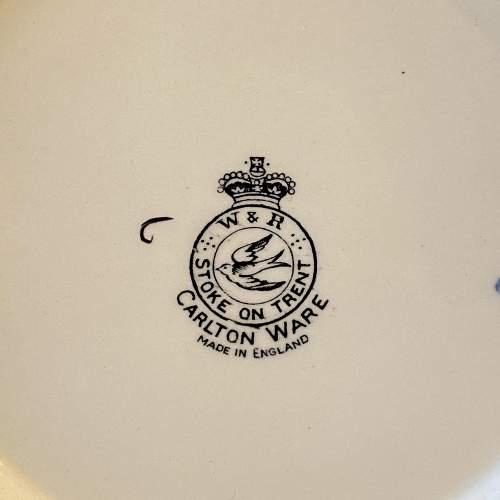Carlton Ware Chinoiserie Lustre Mikado Part Coffee Set image-6