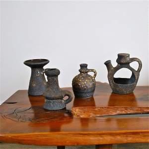 Jopeko Keramik West German Pottery Fat Lava Vases