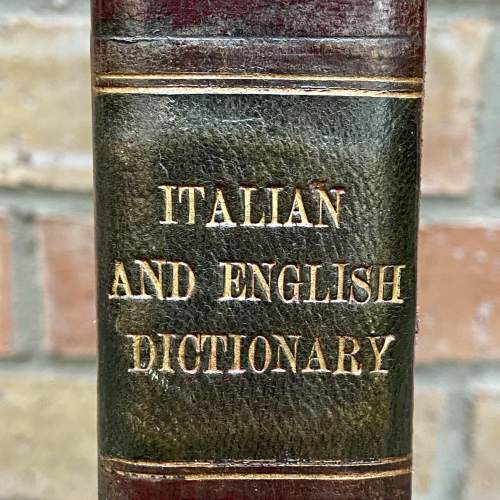 An English and Italian Dictionary - Two Volumes by Joseph Baretti image-3