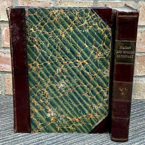 An English and Italian Dictionary - Two Volumes by Joseph Baretti image-2