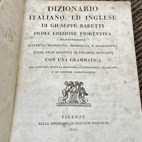 An English and Italian Dictionary - Two Volumes by Joseph Baretti image-5
