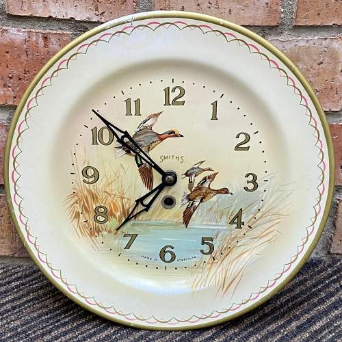 20th Century Smiths Flying Ducks Wall Clock image-1