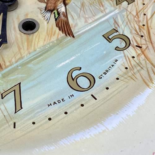 20th Century Smiths Flying Ducks Wall Clock image-3
