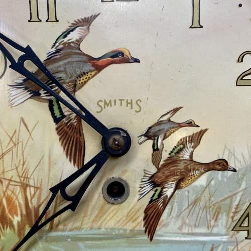 20th Century Smiths Flying Ducks Wall Clock image-2