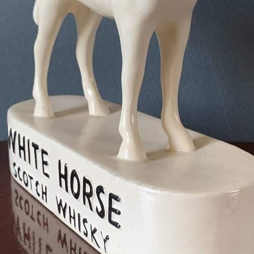 Kelsboro Ware White Horse Scotch Whisky Figurine image-3