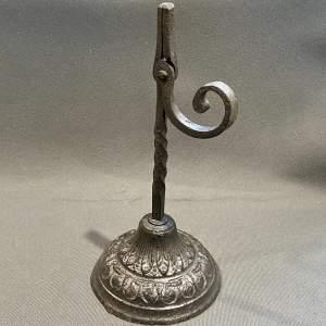 Rare Victorian Rushlight