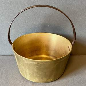 Heavy Brass Jam Pan