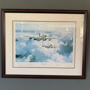 Framed and Signed Print of The Lancaster VCs
