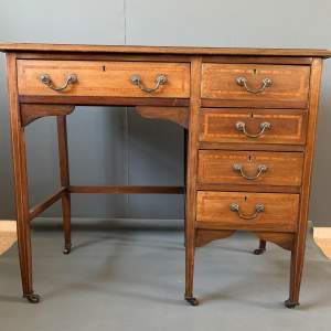 Edwardian Mahogany Ladies Writing Desk