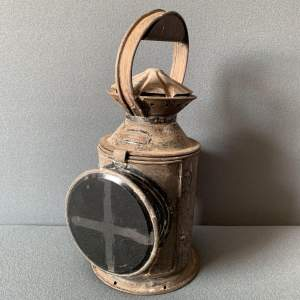 Railway Three Aspect Revolving Hand Lamp