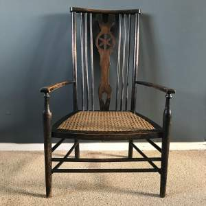 Arts and Crafts Country Elbow Chair