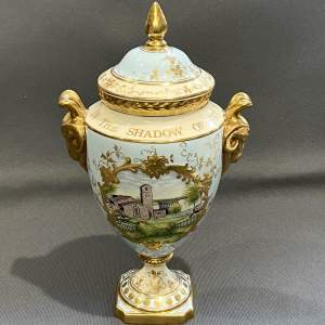Coalport Commemorative RAF Limited Edition Lidded Vase