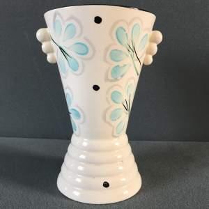 Arthur Wood 1930s Hand Painted Vase