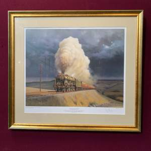 Signed Limited Edition Print of Racing the Storm