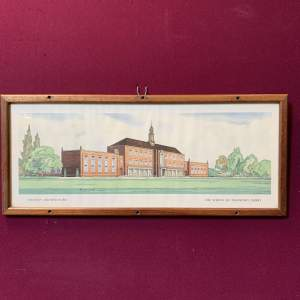 The School of Transport Derby Carriage Print