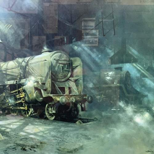 On Shed Signed Print by David Shepherd image-2