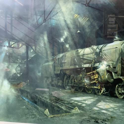 On Shed Signed Print by David Shepherd image-3