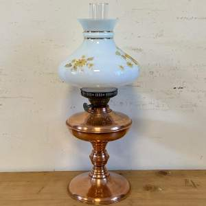 Victorian Copper Oil Lamp