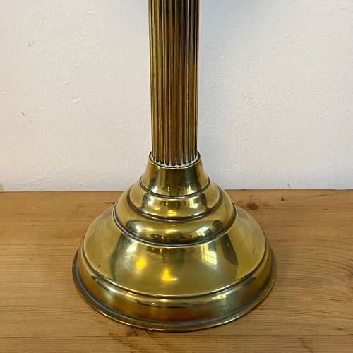 Victorian Brass Oil Lamp image-3