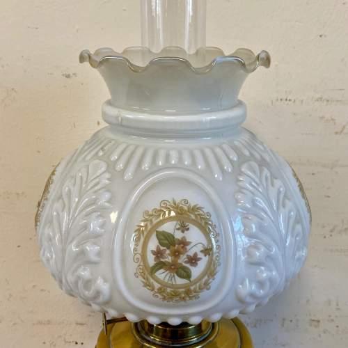 Victorian Brass Oil Lamp image-4