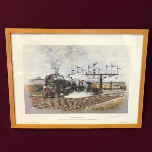 The Bournemouth Belle Signed Print