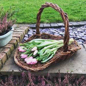 Wicker Trug Display Basket