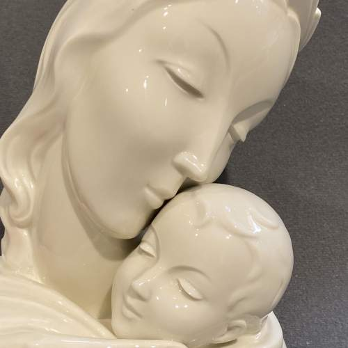 Early 20th Century Rosenthal Maria and Child Bust image-2