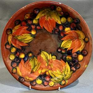 Early 20th Century Moorcroft Leaf and Berry Charger