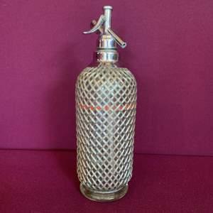 Sparklets Wire Mesh Vintage Soda Syphon