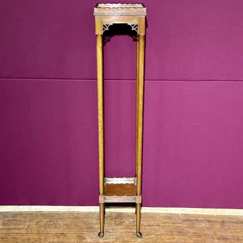 Early 20th Century Mahogany Torchere/ or Sculpture Display Stand image-2