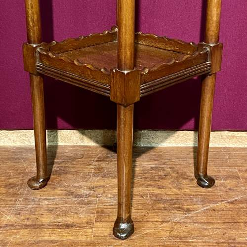 Early 20th Century Mahogany Torchere/ or Sculpture Display Stand image-4