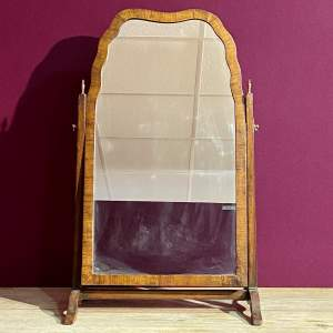 Late 18th Century Queen Anne Style Walnut Dressing Table Mirror