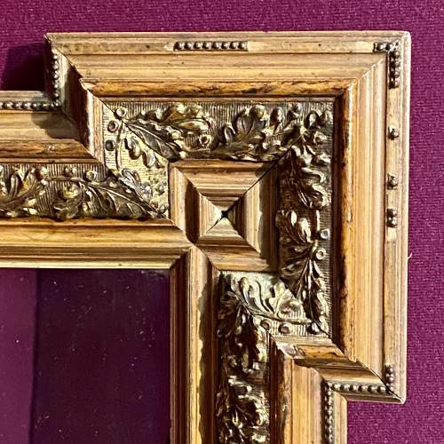 Late Victorian Aesthetic Period Wooden Framed Wall Mirror image-2