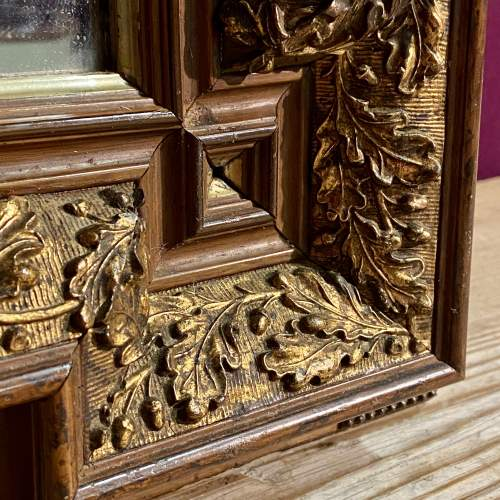 Late Victorian Aesthetic Period Wooden Framed Wall Mirror image-3