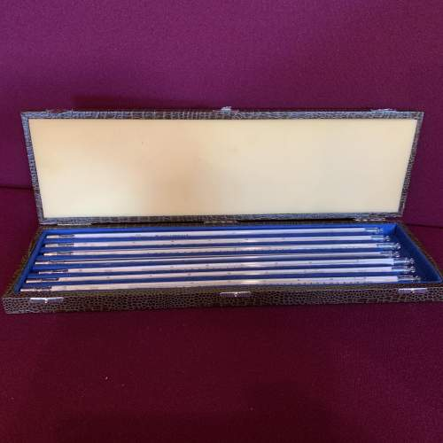 Set of East German Scientific Thermometers image-3